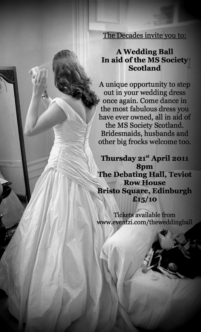 A Wedding Ball In Aid Of The MS Society Scotland