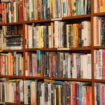 books for borrowing in a library
